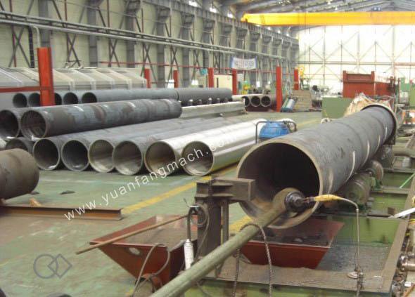 Steel pipe internal grinding machine yuanfang machinery